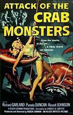 ATTACK OF THE CRAB MONSTERS (DVD) HORROR 1957