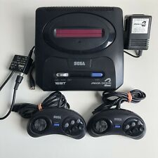 SEGA MEGADRIVE 2 NTSCJP MK2 CONSOLE JAPAN SET WITH RF CABLE TESTED 100% WORKING