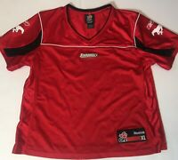 NEW Authentic Calgary Stampeders Reebok Youth XL CFL Jersey