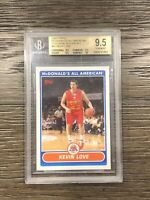 2007 Topps Kevin Love Mcdonalds All American BGS 9.5 Exclusive #KL