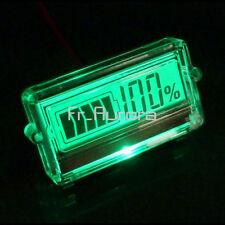 Waterproof LCD Battery Display Capacity Tester Indicator 12V Lead-acid lithium