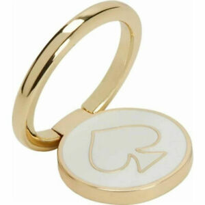 Kate Spade New York Universal Stability Ring - Gold/Cream Enamel