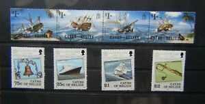 Cayes of Belize 1984 Lloyds List 1985 Shipwrecks set MM