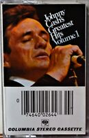 Cassette Johnny Cash Cash's Greatest Hits Volume 1 TESTED Jackson Ring of Fire