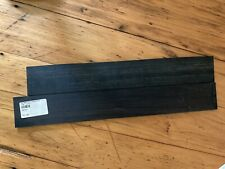 1Fb Ebony Std 2/3/4x18.5-19.5 Fretboard Other Unmarked Nos Luthier 2 Boards