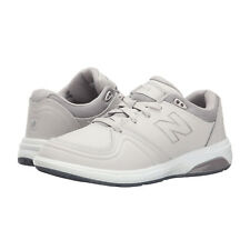 NEW BALANCE Walking MARCHE WW813 Lace Up Athletic Shoe Pale Grey/White • 10.5 M