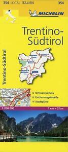 Michelin Lokalkarte Trentino - Südtirol 1 : 200 000   (Land-)Karte   Deutsch