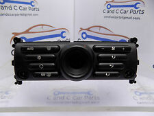 BMW Mini One Cooper S  Facelift  Automatic Heater Controls 6411 6954434
