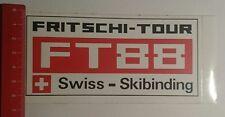 Aufkleber/Sticker: Fritschi Tour FT 88 Swiss Skibinding (20011751)