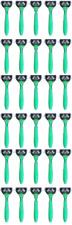 Schick Xtreme3 Disposables Razors Sensitive Vitamin E & Aloe, Green - Lot of 30