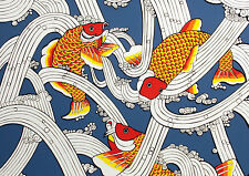 "Marcia Mancheski ""Japanese Goldfish"" Hand Signed Color Serigraph Fine Art Print"