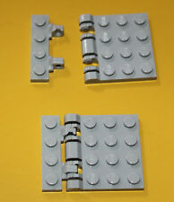 Lego Star Wars Light Bluish Gray vertically opening roof 4 parts dans total