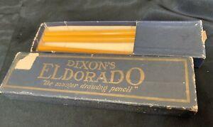 3 DIXON'S Eldorado Master Drawing Pencil 3H in Original Box Made in Jersey
