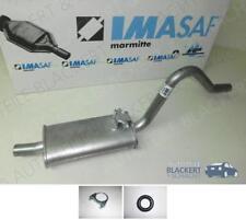 IMASAF Auspuff Mitteltopf + Anbauteile Opel Rekord D 1.7 + 1.9 + 2.0 + 2.1 D