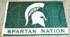 Michigan State Flag 3 X 5 Ft Spartan Nation Banner