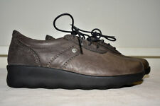 Wolky Walking Flat Shoes Leather Lace Up Women's 38
