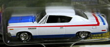 JOHNNY LIGHTNING 70 1970 AMC REBEL MACHINE MUSCLE CAR USA COLLECTIBLE WHT RED BL