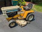 """International Cub Cadet 1250 Tractor Hydrostatic 44"""" Mower + QA36A snow blower"""