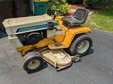 International Cub Cadet 1250 Tractor Hydrostatic 44 Mower Qa36a Snow Blower