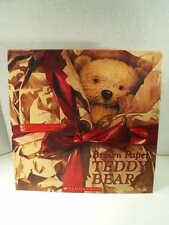 BROWN PAPER TEDDY BEAR Catherine Allison Neil Reed Huge Kids Fantasy 1st Edition