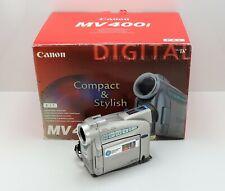 CANON MV400i CAMCORDER BOXED MINI DV DIGITAL TAPE VIDEO CAMERA MV 400i