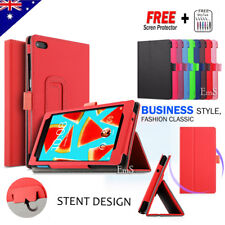 Leather Stand Flip Case Cover For Lenovo Tab 7 Essential E7 E8 Tab 4 8 10 Plus