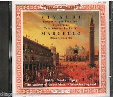 """Vivaldi: Concerti e Sonate """"La Follia""""; Marcello: Concerti Per Oboe / Hogwood CD"""