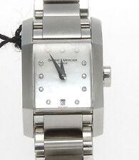 Authentic BAUME & MERCIER DIAMANT MOTHER OF PEARL Diamond Dial Quartz WATCH 8573