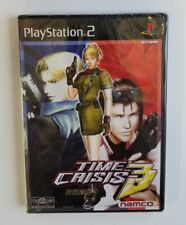 Time Crisis 3 Playstation 2 PS2 Japan Import Guncon 2 Compatible Namco Sealed