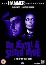 CLASSIC HAMMER HORROR DVD – Dr JEKYLL And SISTER HYDE – MARTINE BESWICK