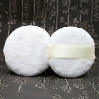 3pcs Plush Fluffy Powder Puff Dusting Powder Puffs Body Talcum Powders Puff