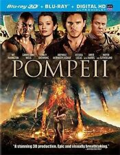 Pompeii (Blu-ray Disc, 2014, 2-Disc Set, Includes Digital Copy UltraViolet 3D)