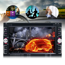 "YT-6205 6.2"" 2 DIN Car Stereo DVD MP3 Player Bluetooth FM Radio Touch Screen~"