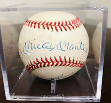 Mickey Mantle Whitey Ford Autographed Baseball Jsa Certified Plus 5 Other Greats