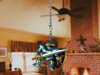 Roman Soldier Ceiling Fan Pull Cord Light Lamp Chain Decor K1146 A6