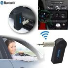 A2DP 3.5mm Wireless Bluetooth3.0 Car Kit AUX Audio Stereo Music Receiver Adapter