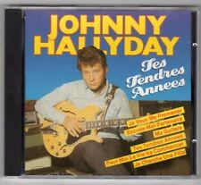 Johnny HALLYDAY CD album Tes tendres années