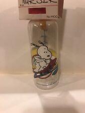 Snoopy Baby Bottle On Skate Board