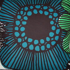 "Marimekko Siirtolapuutarha pillow cushion case, 18"", 45cm, Finland blue green"
