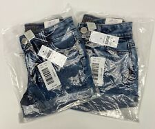 2 Justice Girl's Size 8 Jean Shorts NWT #32C