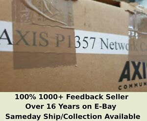 Boxed Axis P1357 5MP UHD CCTV POE Dig PTZ Camera - Sameday ship/collection