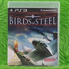 ps3 BIRDS OF STEEL The Real Combat Flight Simulator PAL UK REGION FREE