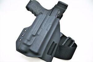 Kydex Drop Leg Holster- Light Bearing/ Standard- All Popular gun Models