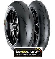 SET 110/70/zr17 SC1 & 150/60/zr17 SC2 Pirelli DIABLO SUPERCORSA V2 RACE Tyres