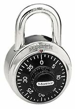 Master Lock 1525 Locker Combination Padlock NEW IN BOX Control Key V56