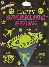 Orignal Twinkle brand 4 Sheets -- Night Radium Stars ( self glowing ),,
