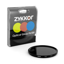 Zykkor 77mm Neutral Density ND8 0.9 ND 8 HD Optical Glass Filter