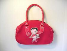 BETTY BOOP POCKETBOOKS / PURSE #37 SITTING WITH PUDGY DESIGN RED