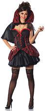 HAUNTED MISTRESS Costume Corset Top w/ OverSkirt Vampire Cape Small Medium 2 4 6