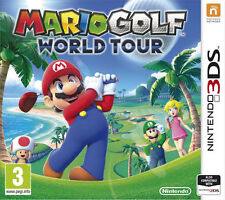 New Super Mario Bros and Sonic Golf World Tour Nintendo 3DS Game New Sealed UK